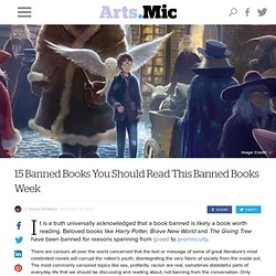 15 Banned Books You Should Read This Banned Books Week
