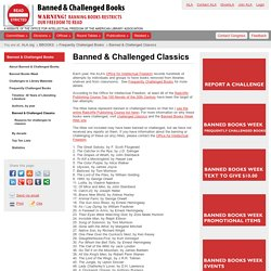 Banned & Challenged Classics