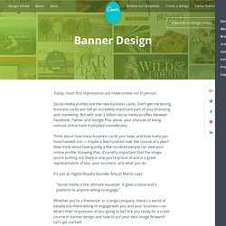 Banner Design - Tips and Inspiration By Canva