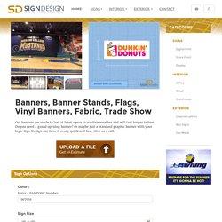 banner stand information