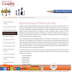 Online Banner Design Services in India