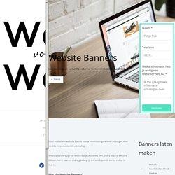 Website Banners Goedkoop