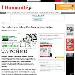 Des hackers sous la bannière des révolutions arabes