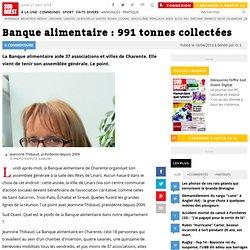 SUD OUEST 10/04/13 Banque alimentaire : 991 tonnes collectées