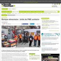 NOUVELLE REPUBLIQUE 18/01/16 Indre-et-Loire - Banque alimentaire : drôle de PME solidaire