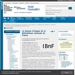 La banque d'images de la Bibliothèque nationale de France