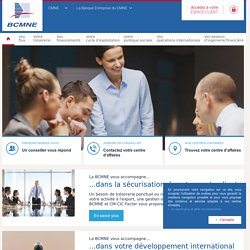 BCMNE : Banque Commerciale du Marché Nord Europe - La Banque partenaire des PME