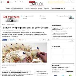 """""""Banque: les épargnants sont en quête de sens"""""""