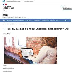 BRNE : banque de ressources numériques