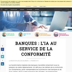 Banques : l'IA au service de la conformité