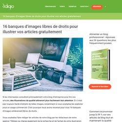 16 banques d'images gratuites et libres de droits