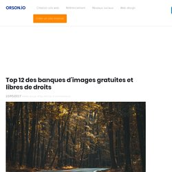 top 12 des banques d'images gratuites et libres de droits