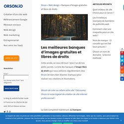 Article: top 12 des banques d'images gratuites et libres de droits