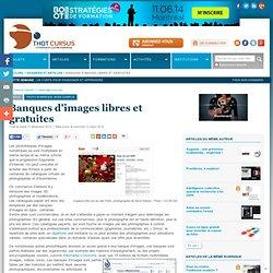 Banques d'images libres de droit et gratuites