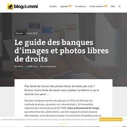 Le guide des banques d'images et photos libres de droits
