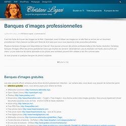Banques d'images professionnelles