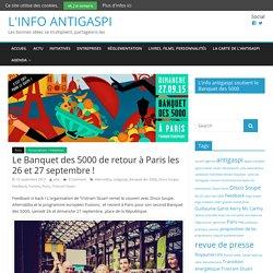 Le Banquet des 5000 de retour à Paris les 26 et 27 septembre !