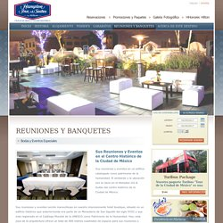 Salones para Banquetes y Reuniones en el Centro Histórico