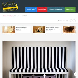 Banquette avec EXPEDIT - Bidouilles IKEA