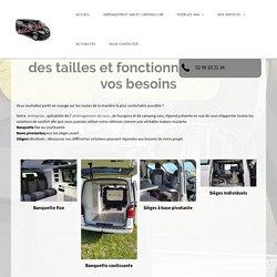Banquette et siège pour van, fourgon et camping-car en Bretagne