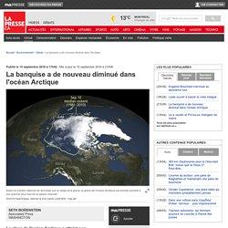 La banquise a de nouveau diminuédans l'océan Arctique