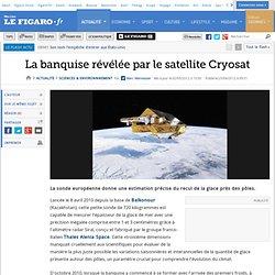 La banquise révélée par le satellite Cryosat