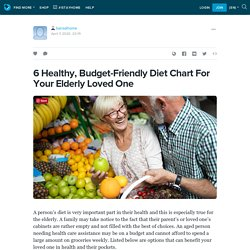 6 Healthy, Budget-Friendly Diet Chart For Your Elderly Loved One: bansalhome — LiveJournal