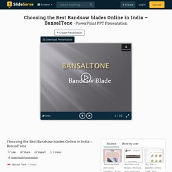 Choosing the Best Bandsaw blades Online in India – BansalTone PowerPoint Presentation - ID:10085473