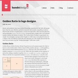 bansktblog  – Golden Ratio in logo designs