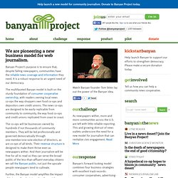 Main Page - Banyan Project