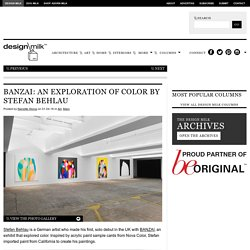 BANZAI: An Exploration of Color by Stefan Behlau
