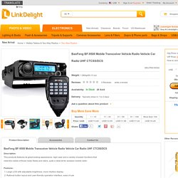 BaoFeng BF-9500 Mobile Transceiver Vehicle Radio Vehicle Car Rad