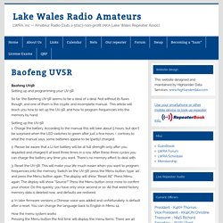 Lake Wales Radio Amateurs
