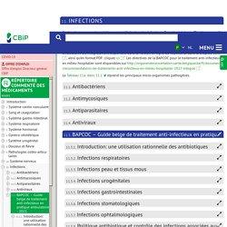 BAPCOC – Guide belge de traitement anti-infectieu…