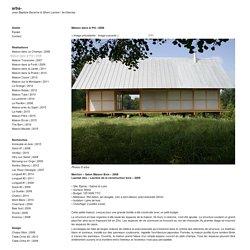 2008, arba- Jean-Baptiste Barache & Sihem Lamine / Architectes