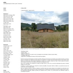 2019, arba- Jean-Baptiste Barache & Sihem Lamine / Architectes