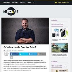 Baptiste Clinet : qu'est-ce que la Creative Data ?
