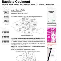La province à Paris