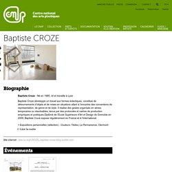 Baptiste CROZE
