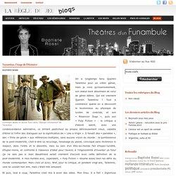 Baptiste Rossi - Théâtres d\'un funambule - Tarantino, l'Ange de l'Histoire