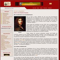 Molière (Jean-Baptiste Poquelin)