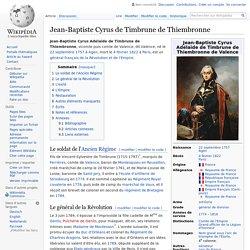 Jean-Baptiste Cyrus de Timbrune de Thiembronne