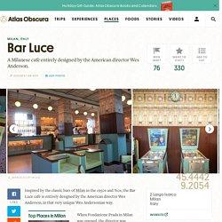 Bar Luce – Milan, Italy