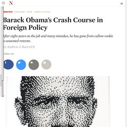 Barack Obama's Crash Course in Foreign Policy
