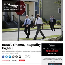Barack Obama, Inequality Fighter