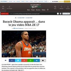 Barack Obama apparaît ... dans le jeu vidéo NBA 2K 17