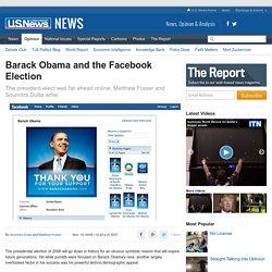 Barack Obama and the Facebook Election