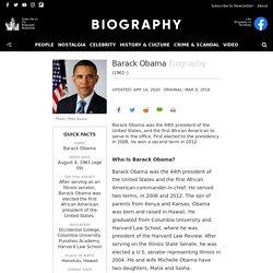 Barack Obama - U.S. Presidency, Education & Family