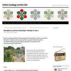 Centre d'écologie urbaine (BXL)