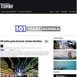 » 20 webs para buscar vuelos baratos Viajes